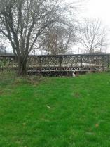 Victorian cast iron bridge