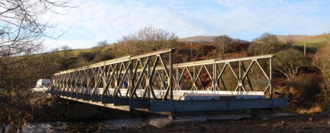 bailey type bridges