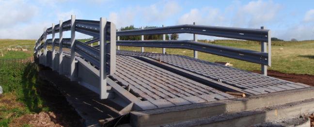 steel vehicle bridges